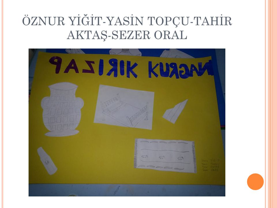 ÖZNUR YİĞİT-YASİN TOPÇU-TAHİR AKTAŞ-SEZER ORAL