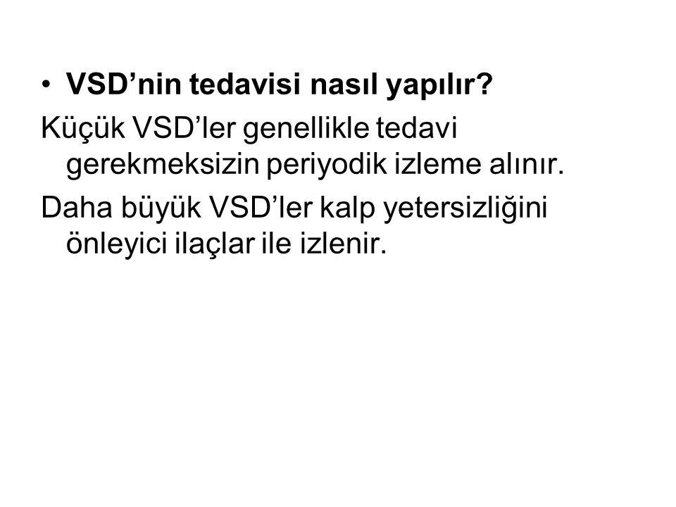 VSD'nin tedavisi nasıl yapılır