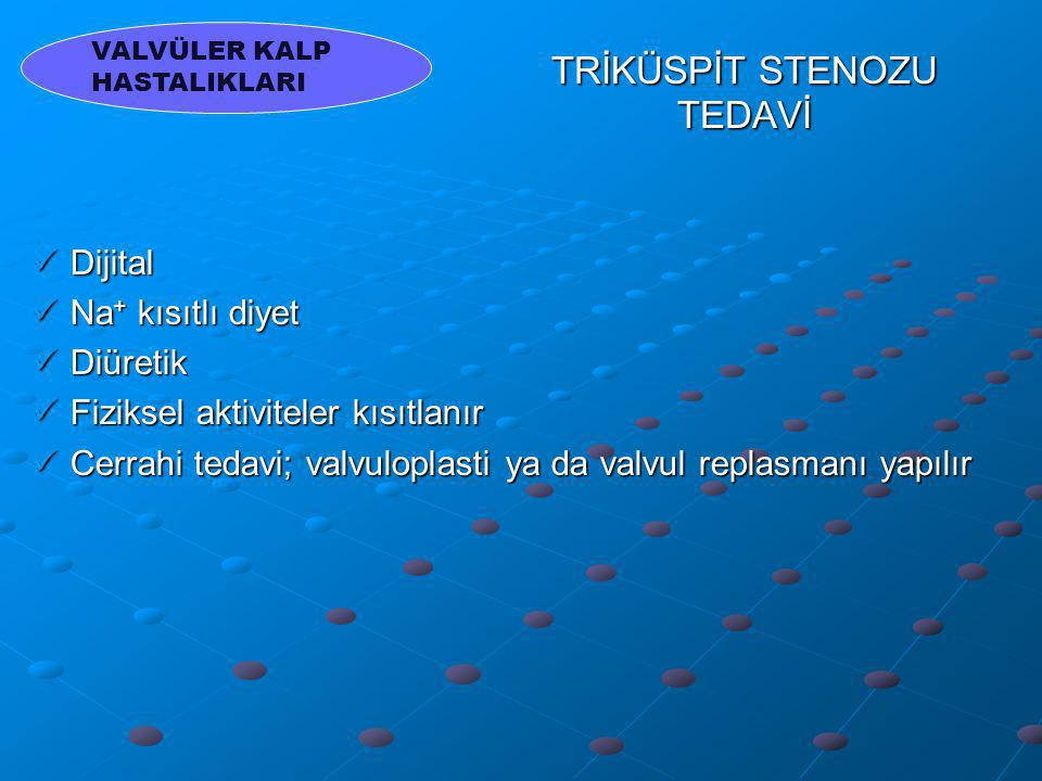 TRİKÜSPİT STENOZU TEDAVİ