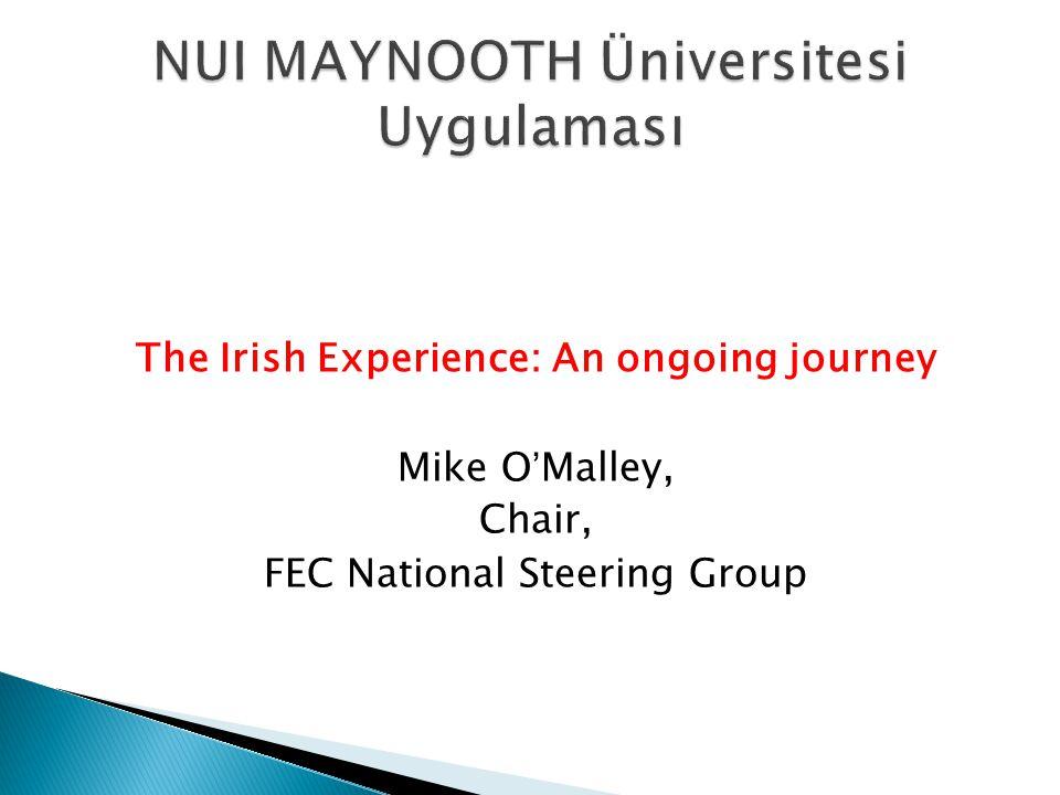 NUI MAYNOOTH Üniversitesi Uygulaması