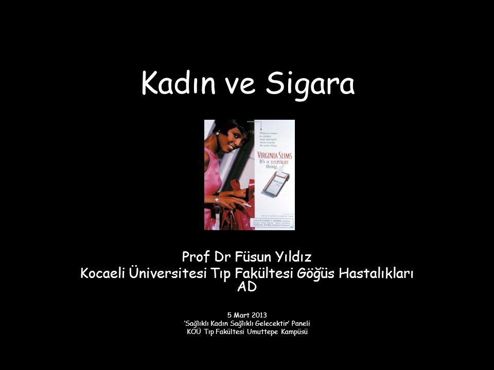 Kadın ve Sigara Prof Dr Füsun Yıldız