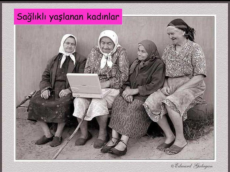 Sağlıklı yaşlanan kadınlar