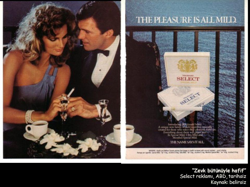 Zevk bütünüyle hafif Select reklamı, ABD, tarihsiz Kaynak: belirsiz