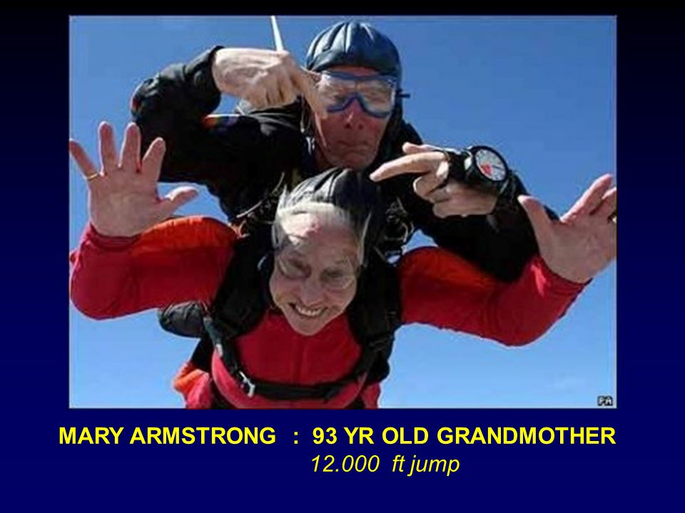 MARY ARMSTRONG : 93 YR OLD GRANDMOTHER