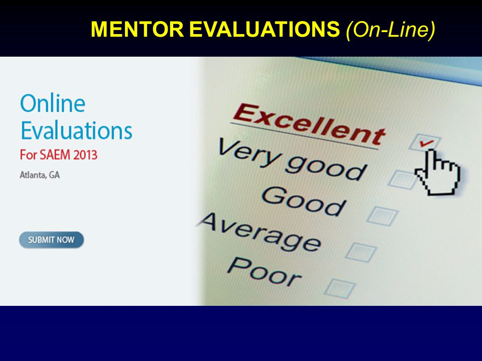 MENTOR EVALUATIONS (On-Line)