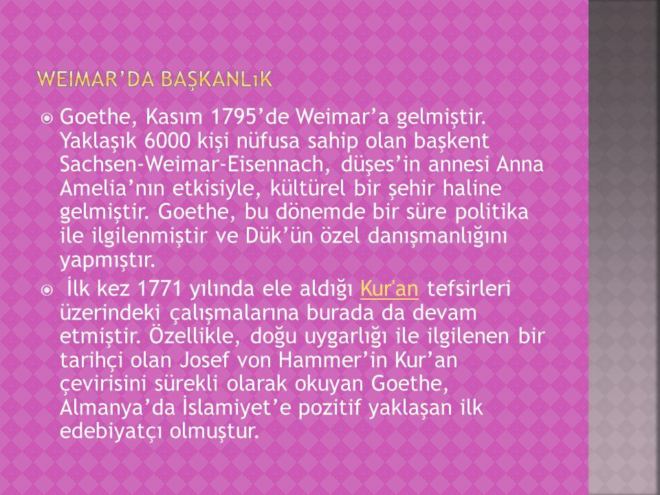 Weimar'da başkanlık