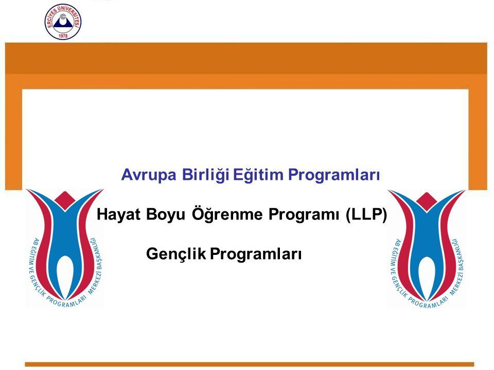 Avrupa Birliği Eğitim Programları Hayat Boyu Öğrenme Programı (LLP)