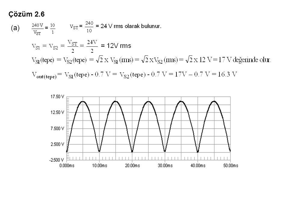Çözüm 2.6 (a)
