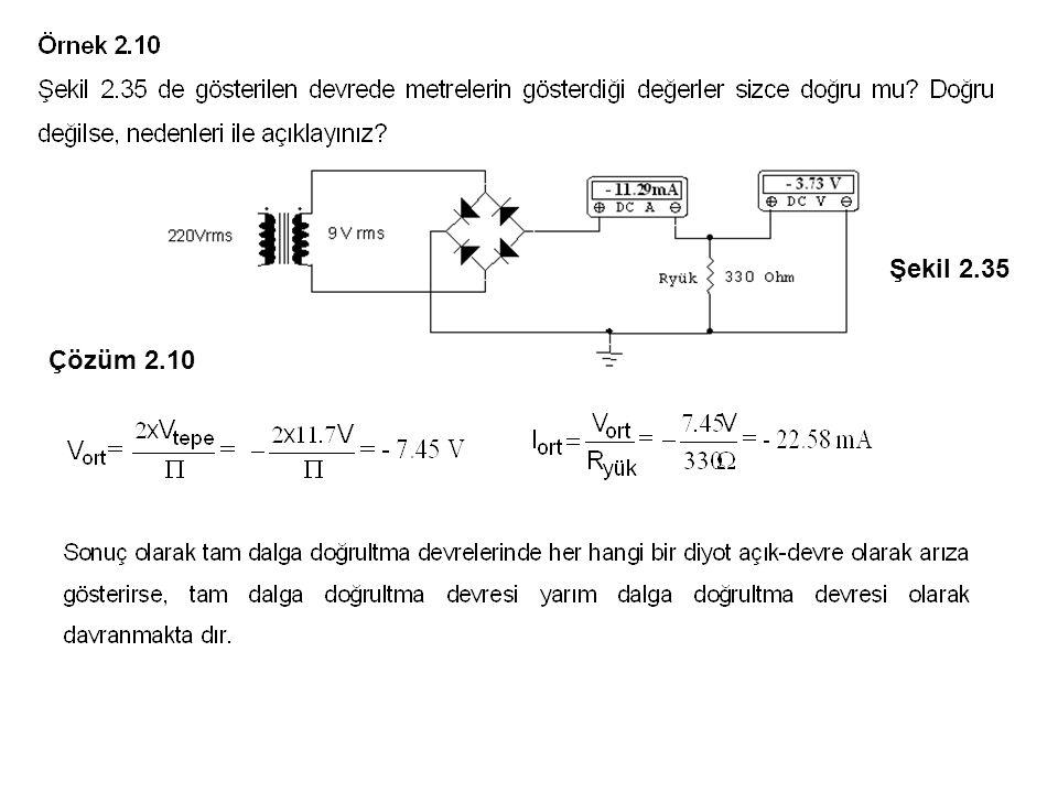 Şekil 2.35 Çözüm 2.10