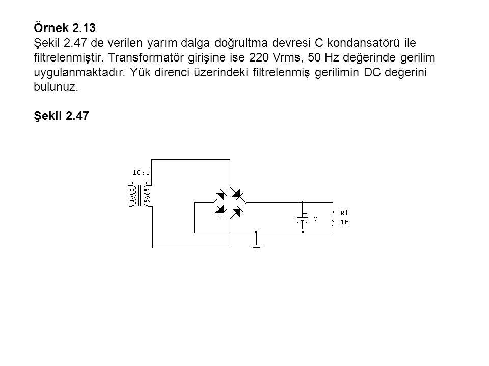 Örnek 2.13