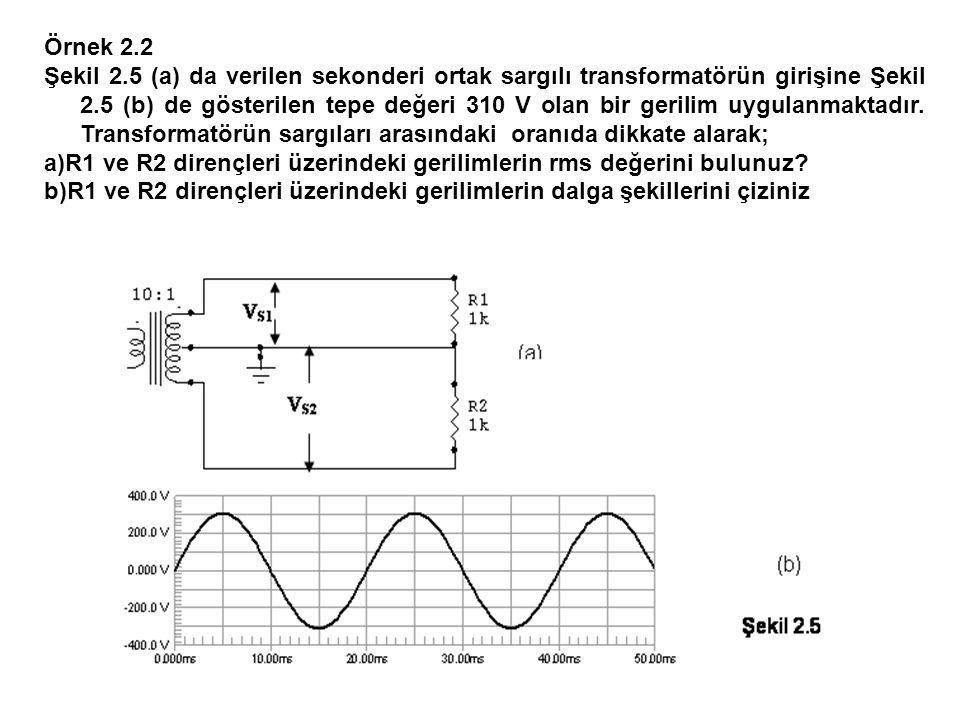 Örnek 2.2