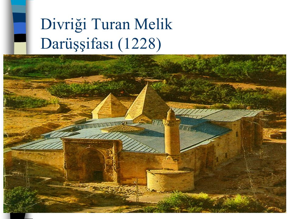 Divriği Turan Melik Darüşşifası (1228)