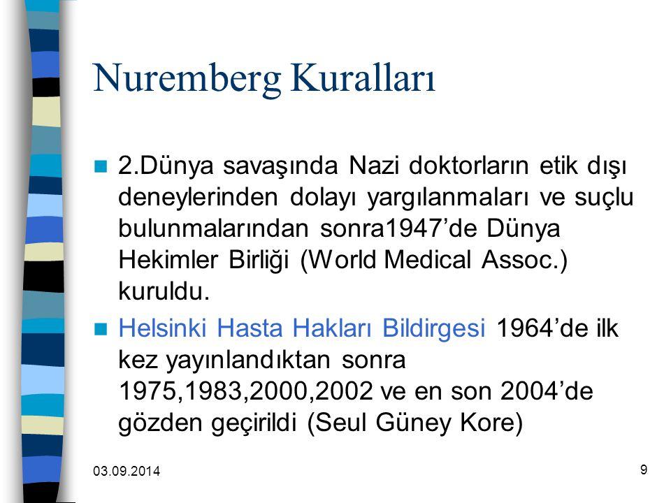 Nuremberg Kuralları