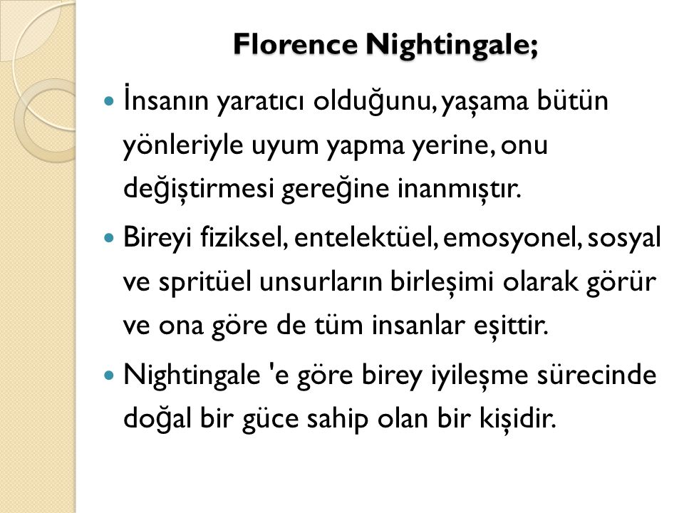 Florence Nightingale;