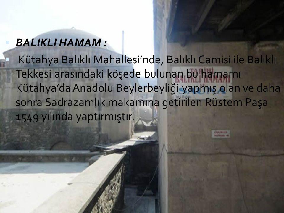 BALIKLI HAMAM :