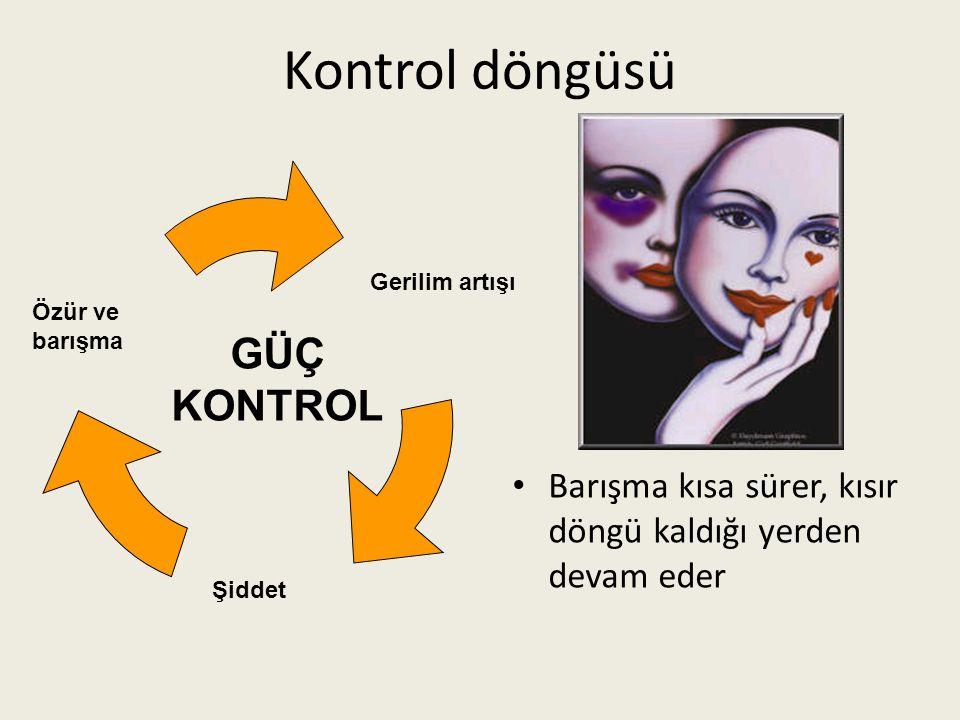 Kontrol döngüsü GÜÇ KONTROL