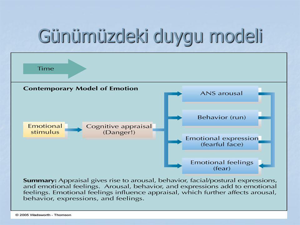 Günümüzdeki duygu modeli
