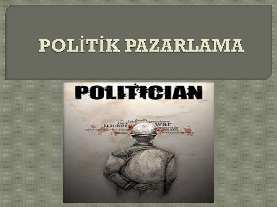 POLİTİK PAZARLAMA