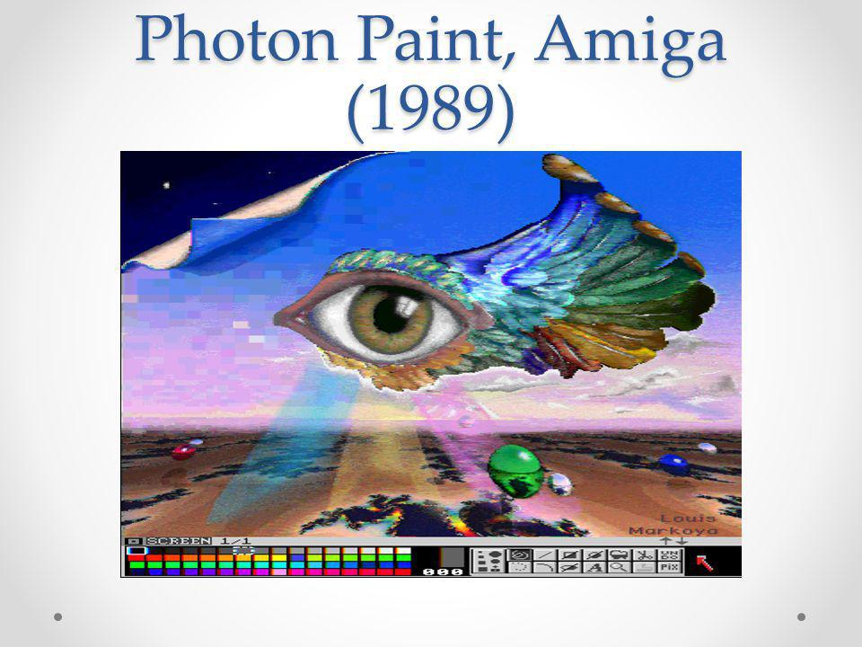 Photon Paint, Amiga (1989)