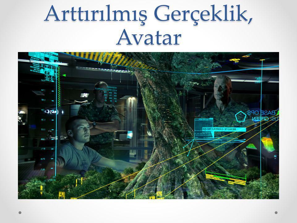 Arttırılmış Gerçeklik, Avatar