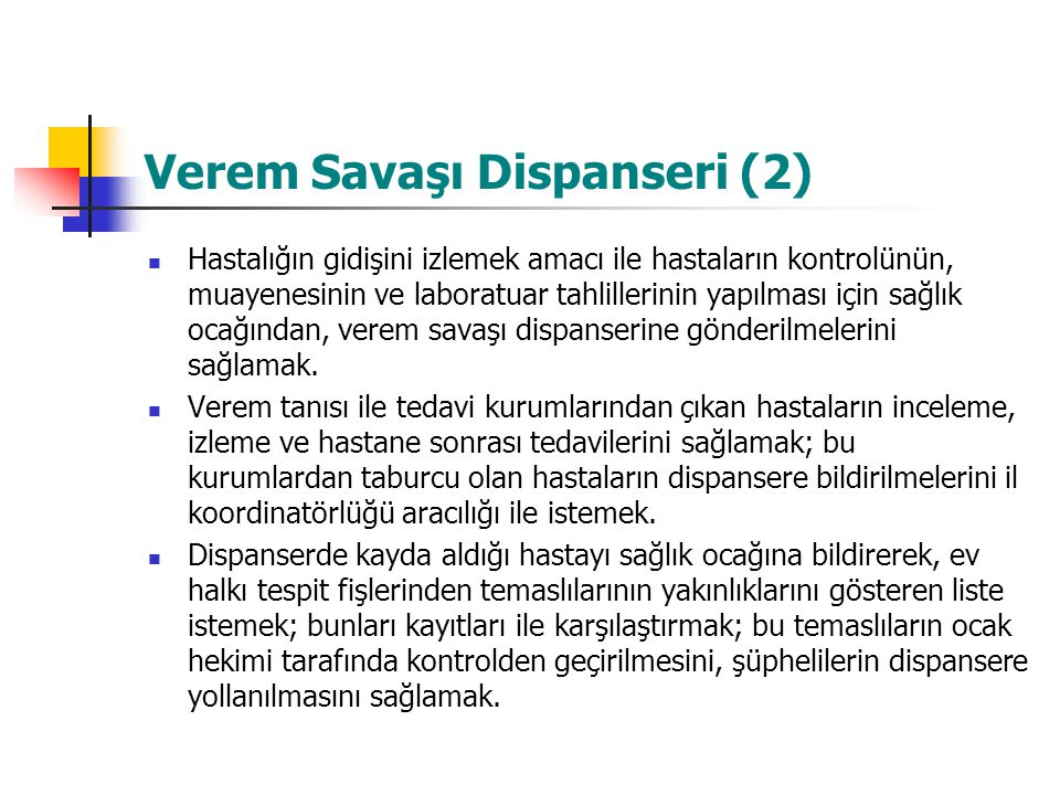 Verem Savaşı Dispanseri (2)