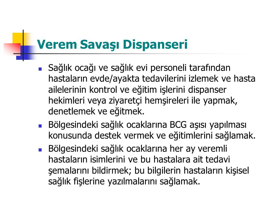 Verem Savaşı Dispanseri