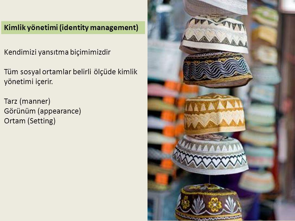 Kimlik yönetimi (identity management)