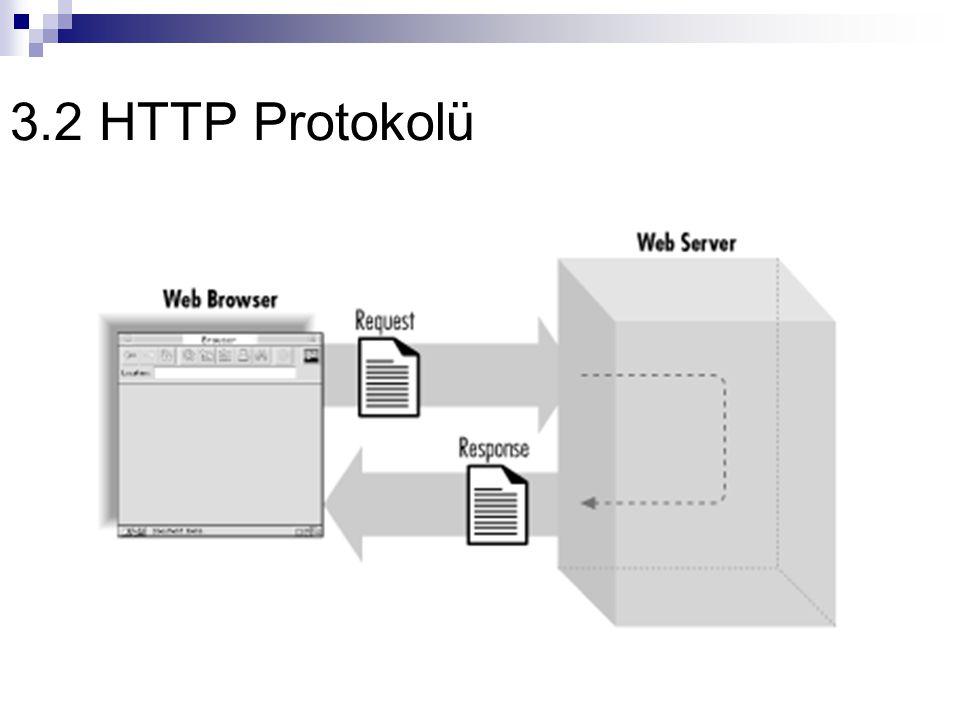 3.2 HTTP Protokolü