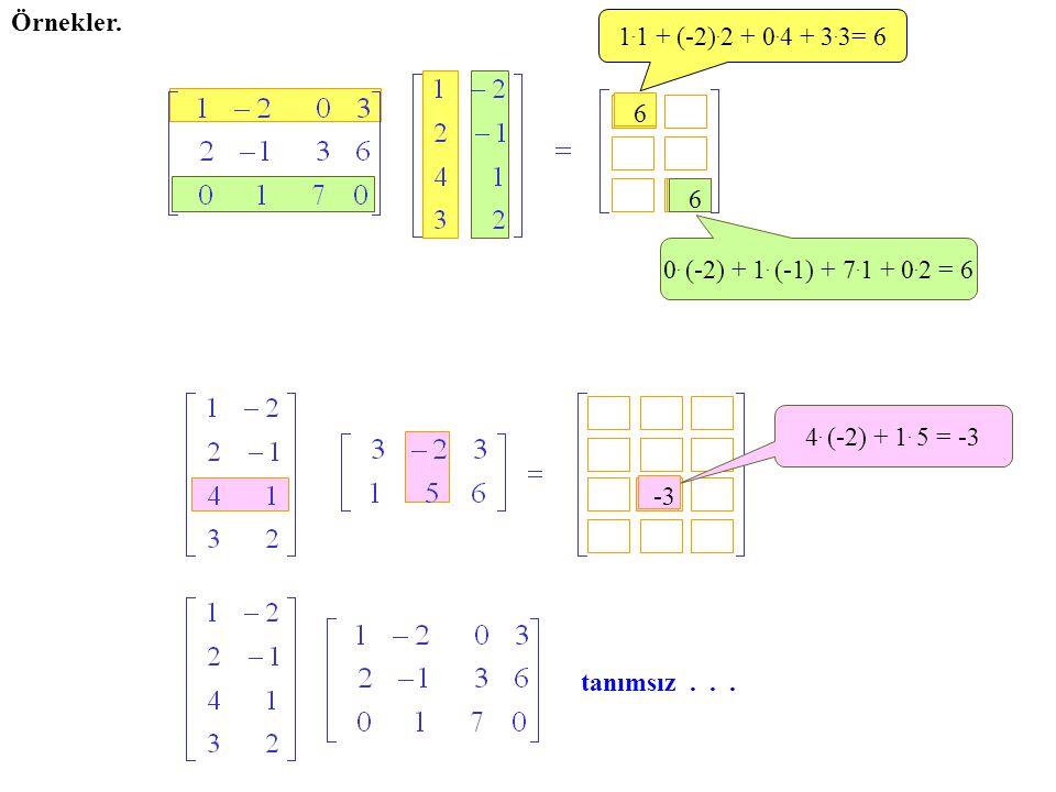 Örnekler. 1.1 + (-2).2 + 0.4 + 3.3= 6. 6. 6. 0. (-2) + 1. (-1) + 7.1 + 0.2 = 6. 4. (-2) + 1. 5 = -3.