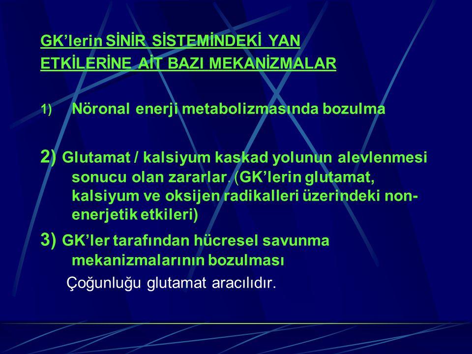 3) GK'ler tarafından hücresel savunma mekanizmalarının bozulması