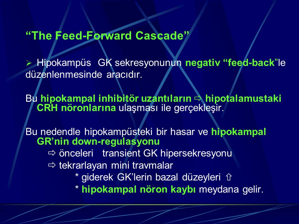 The Feed-Forward Cascade