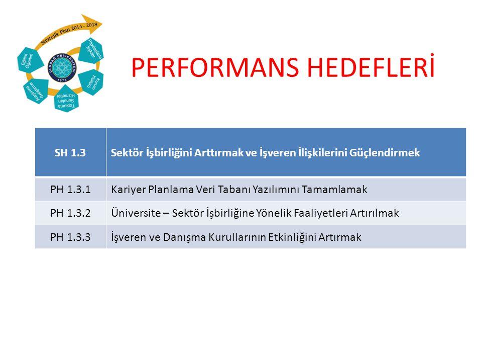 PERFORMANS HEDEFLERİ SH 1.3