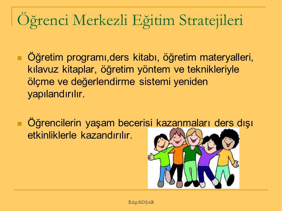 Öğrenci Merkezli Eğitim Stratejileri
