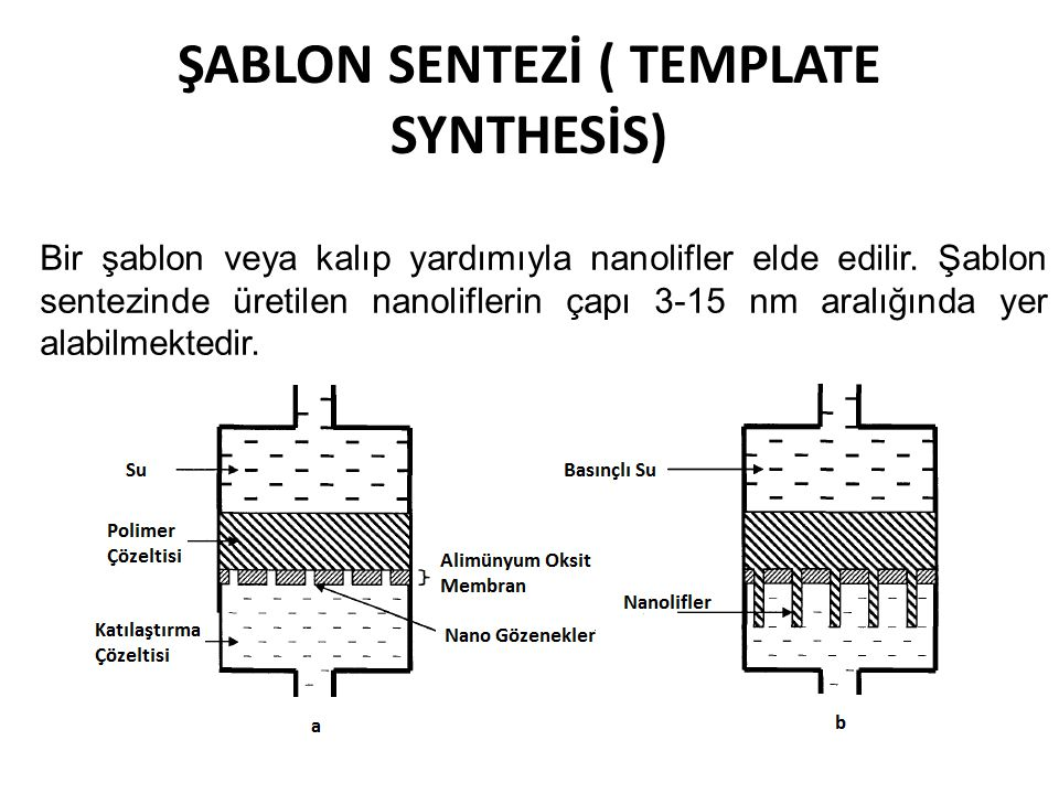 ŞABLON SENTEZİ ( TEMPLATE SYNTHESİS)