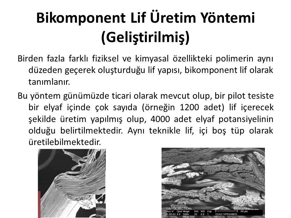 Bikomponent Lif Üretim Yöntemi (Geliştirilmiş)