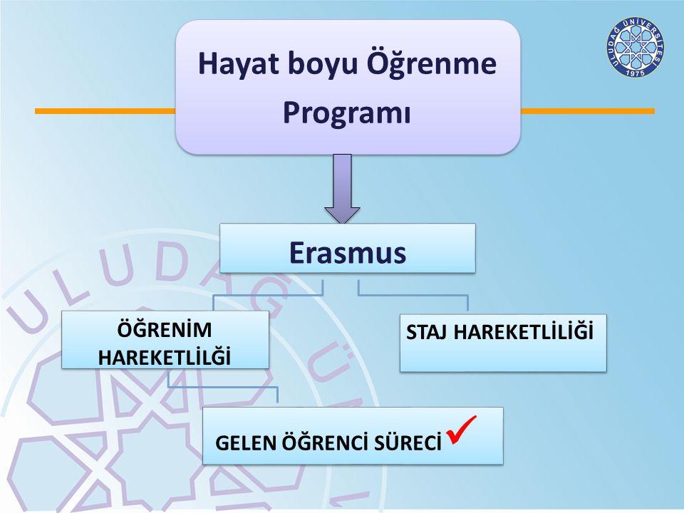 Hayat boyu Öğrenme Programı Erasmus