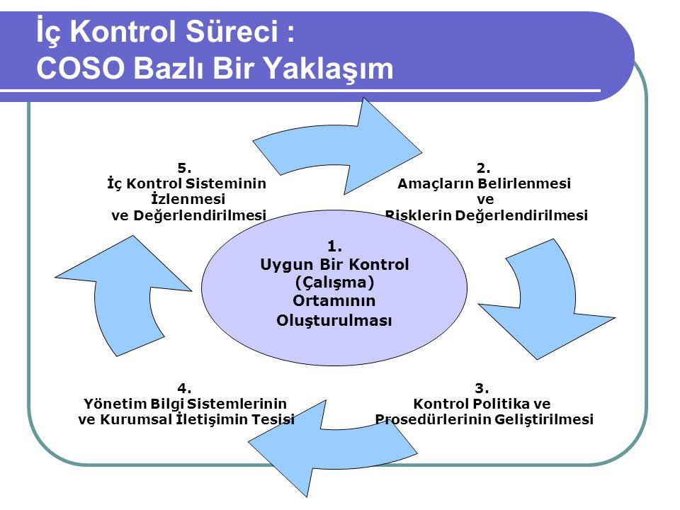 İç Kontrol Süreci : COSO Bazlı Bir Yaklaşım