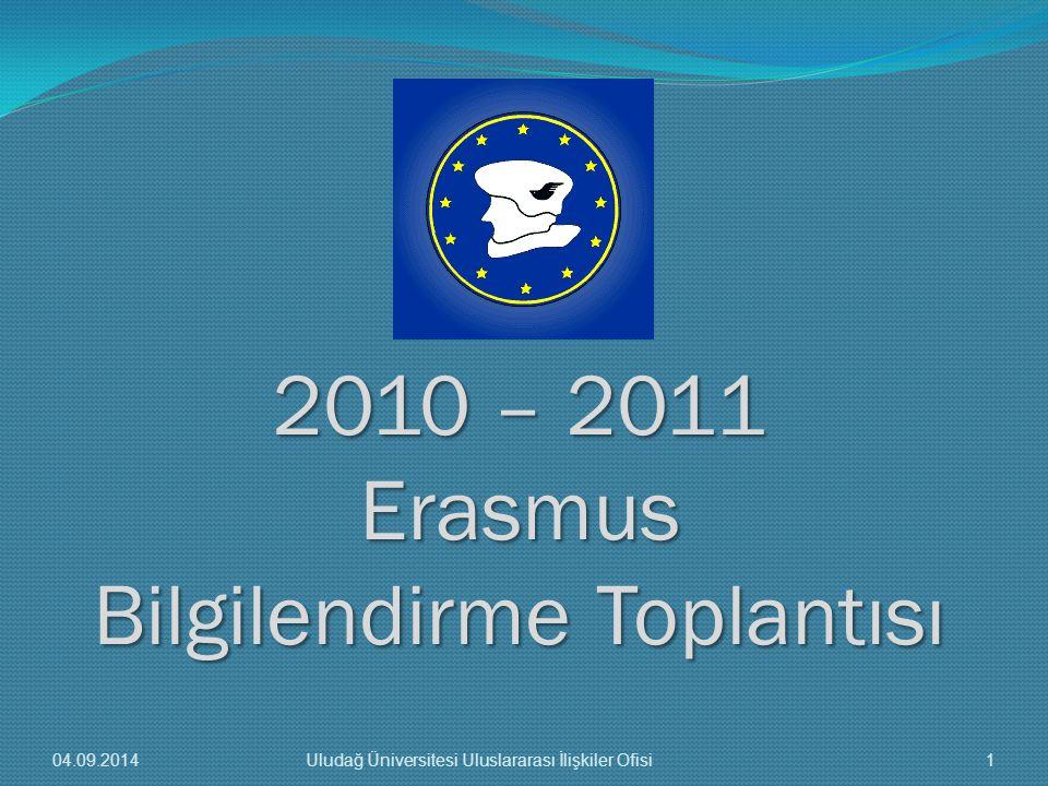 2010 – 2011 Erasmus Bilgilendirme Toplantısı