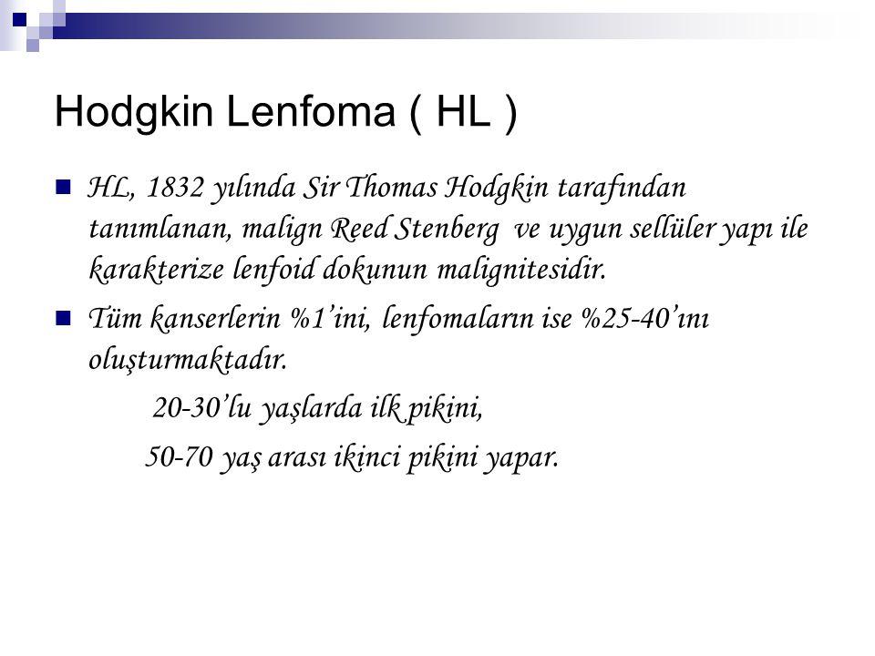 Hodgkin Lenfoma ( HL )