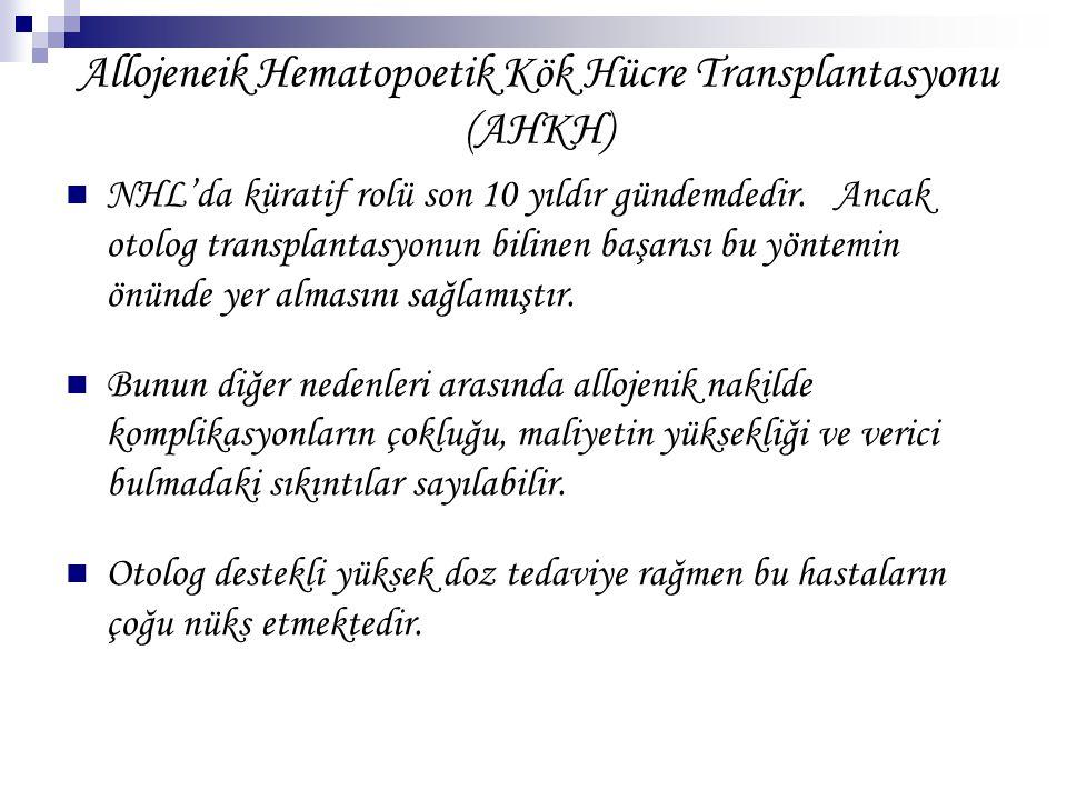 Allojeneik Hematopoetik Kök Hücre Transplantasyonu (AHKH)