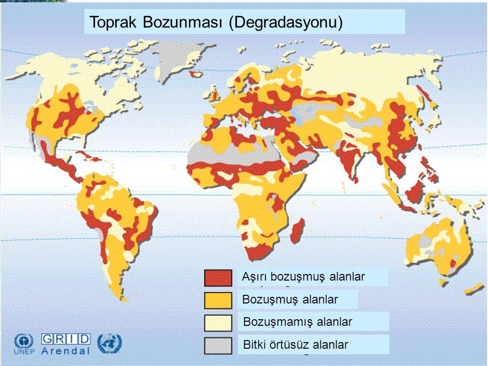 Toprak Bozunması (Degradasyonu)