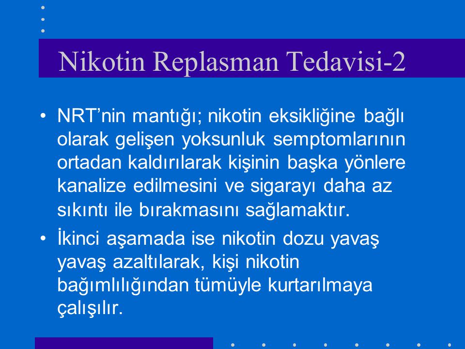 Nikotin Replasman Tedavisi-2