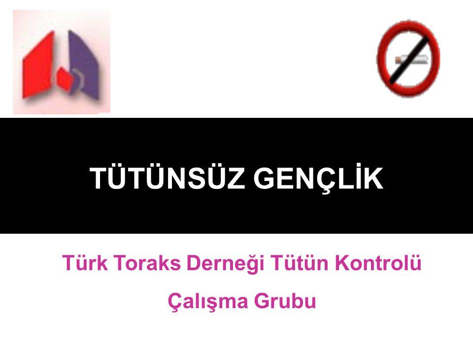 Türk Toraks Derneği Tütün Kontrolü