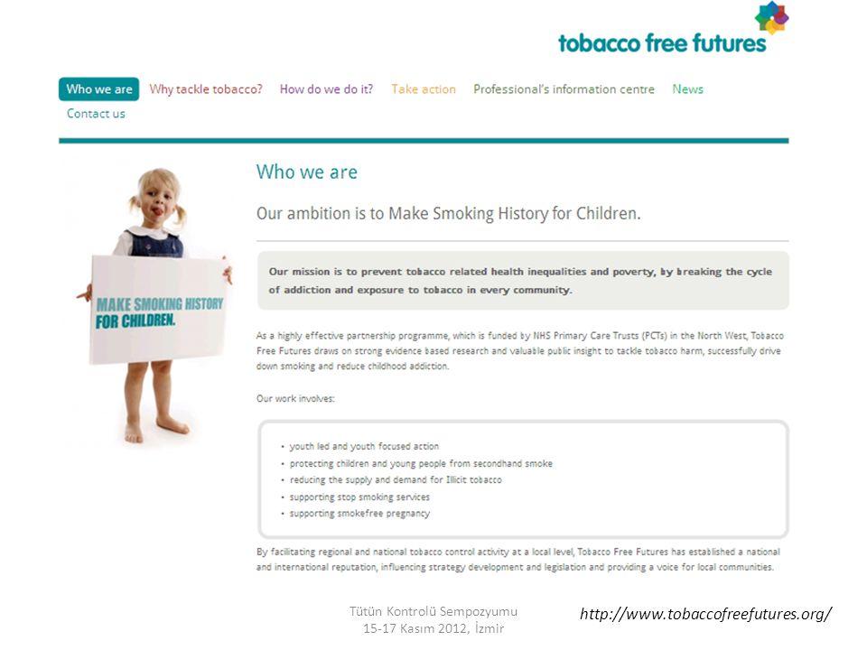 Tütün Kontrolü Sempozyumu 15-17 Kasım 2012, İzmir