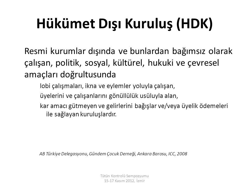 Hükümet Dışı Kuruluş (HDK)