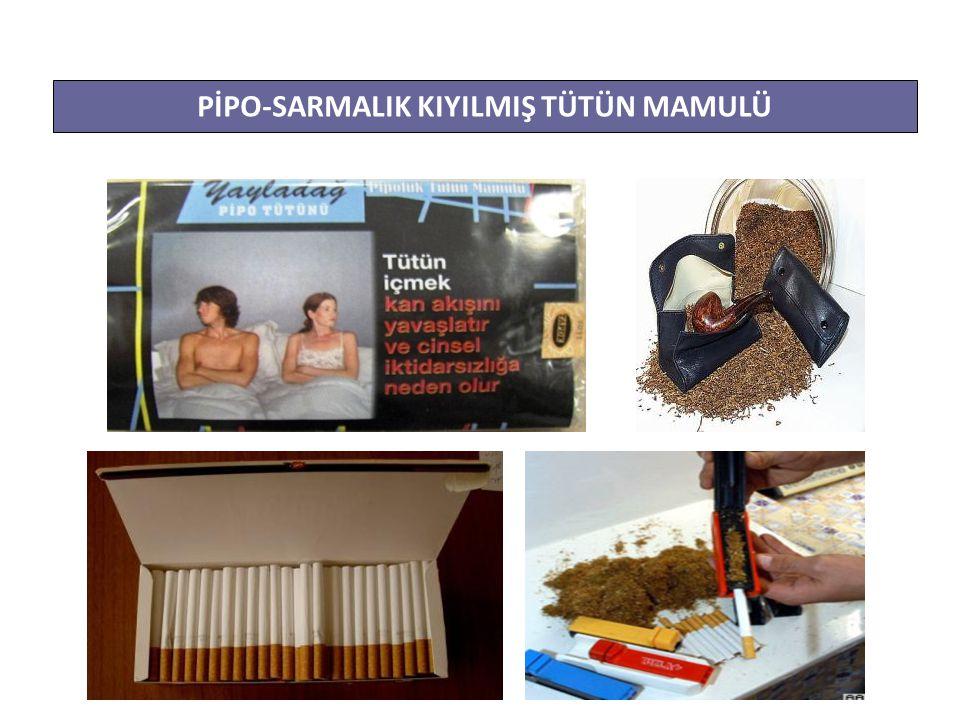 PİPO-SARMALIK KIYILMIŞ TÜTÜN MAMULÜ