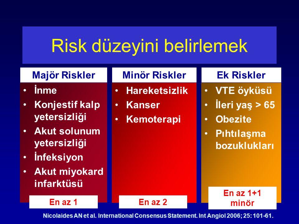 Risk düzeyini belirlemek