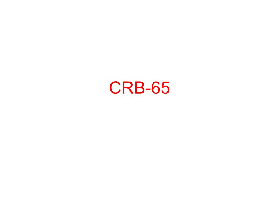 CRB-65