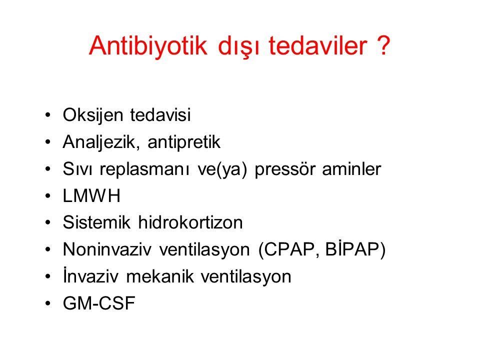 Antibiyotik dışı tedaviler