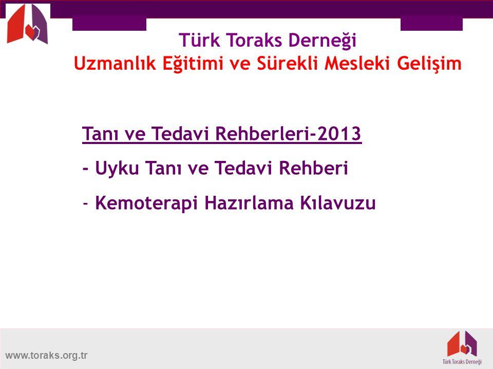 Türk Toraks Derneği Uzmanlık Eğitimi ve Sürekli Mesleki Gelişim